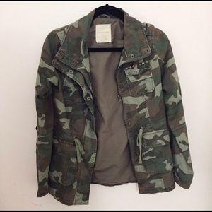 Sound & Matter PacSun Camo Military Jacket